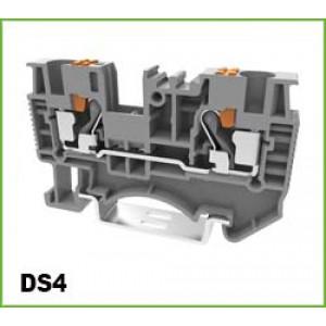 Din Rail Term Block Push-in Grey0.2-4&6mm600V 30A <br>DEGSON